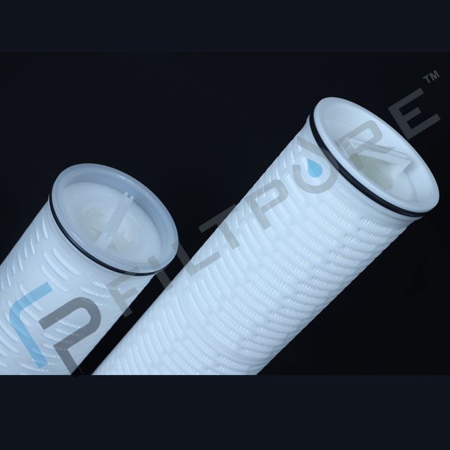 High Flow Pleated Filter Cartridges